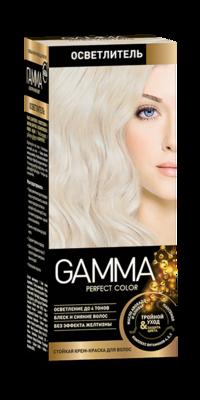 """Краска для волос """"GAMMA Perfect color"""" осветлитель"""