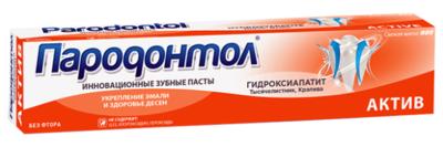 "Зубная паста ""Пародонтол"" актив, без фтора, 124г"