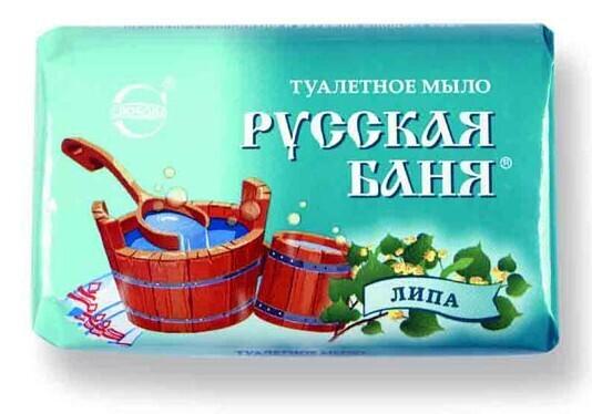 "Туалетное мыло ""Русская баня"" липа, 100г"