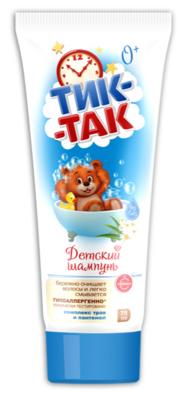 """Детский шампунь """"Тик-так"""" комплекс трав и пантенол, 76г"""