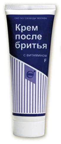 Крем после бритья с витамином F, 80г