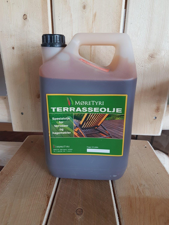 Terrasseolje 5 liter Brun