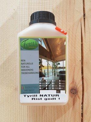Tyrill Interiørolje 0,5 liter Varmgrå