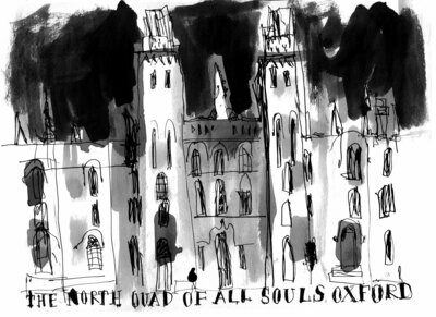 print of All Souls OXFORD