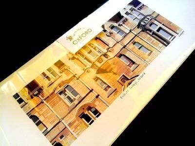 long giclée print of Balliol OXFORD