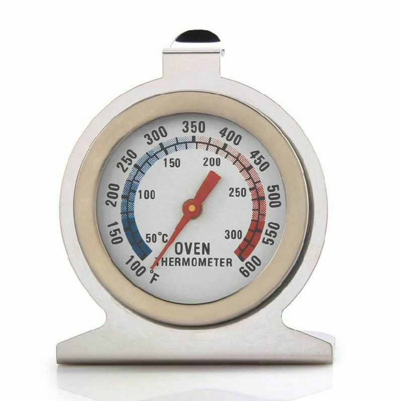 Wood Stove White Face Hanging Oven Temperature Thermometer Temperature Gauge