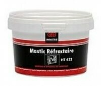 Mastic Refractory High Temperature Putty 400gm