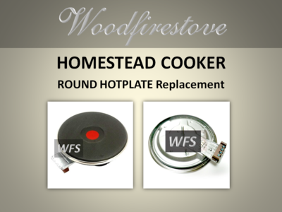 HOMESTEAD COOKER =ROUND HOTPLATE = to suit Models WE1 & WE2 *Free Shipping