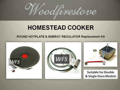 HOMESTEAD COOKER =ROUND HOTPLATE and Energy Regulator Kit= to suit Models WE1 & WE2 *Free Shipping