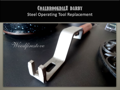 Coalbrookdale Darby C1207 Operating Tool STEEL Heavy Duty Replacement *Free Shipping