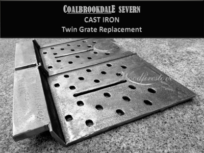 Suits Coalbrookdale Severn Grate Set CAST IRON Heavy Duty Replacement *Free Shipping