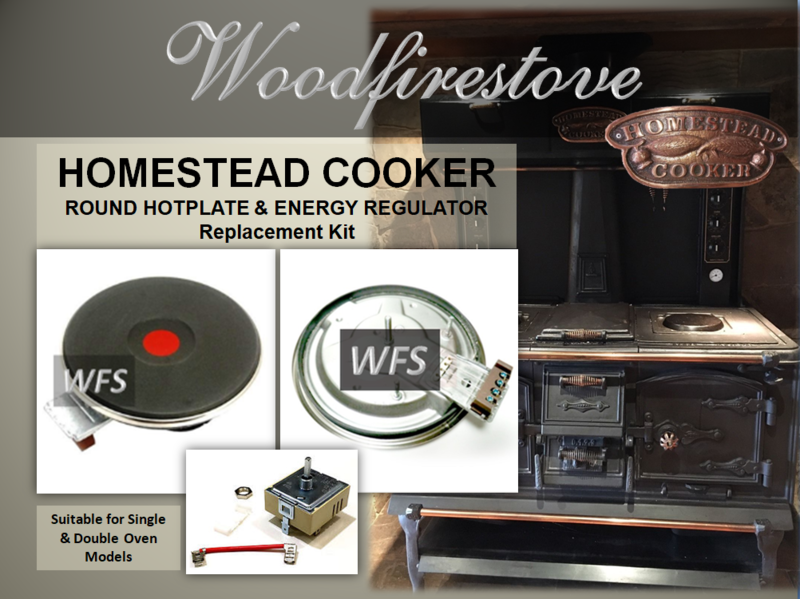 HOMESTEAD COOKER - ROUND HOTPLATE and Energy Regulator Kit - to suit Models WE1 & WE2