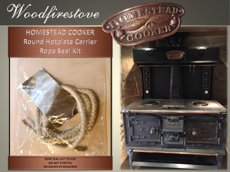 HOMESTEAD COOKER - Round Hotplate Element CARRIER Replacement Rope (to suit Models WE1 & WE2)