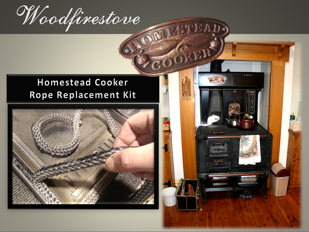 HOMESTEAD COOKER  (WE101) SINGLE OVEN ROPE REPLACEMENT KIT - to suit Models WE1