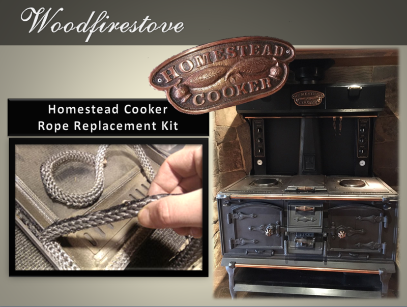HOMESTEAD COOKER (WE102) DOUBLE OVEN ROPE REPLACEMENT KIT - to suit Models WE2