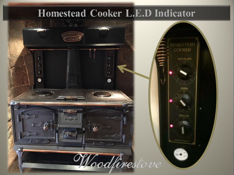 HOMESTEAD COOKER - L.E.D. INDICATOR - to suit Models WE1 & WE2