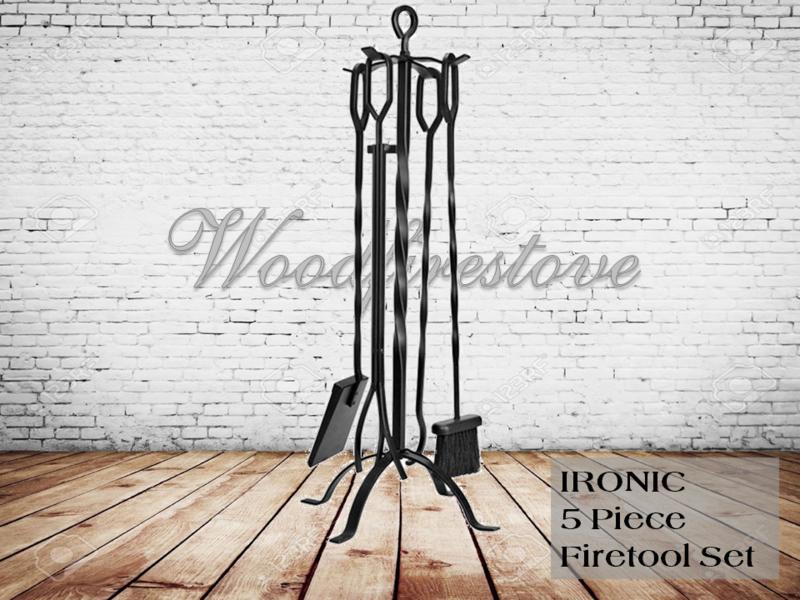 Ironic Firetool Set 5 piece - Ex Display - Discontinued