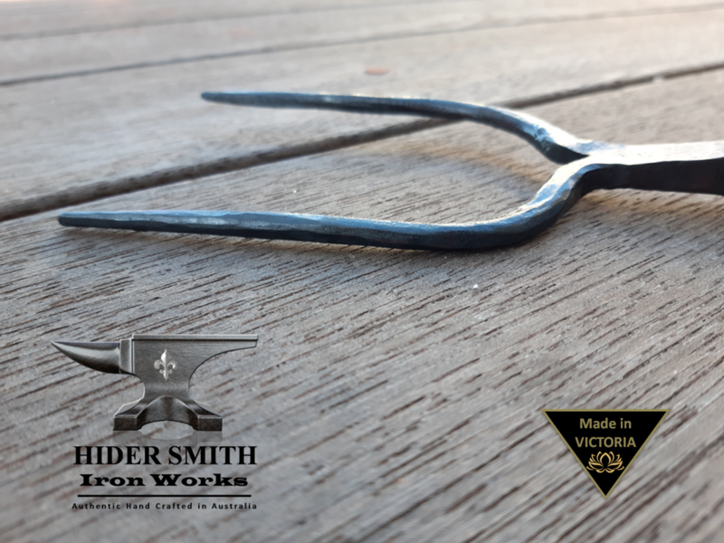 Sebire AUTHENTIC HAND MADE FIREPLACE MARSHMELLOW ROASTER Wrought Iron *Australian Made