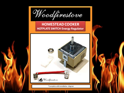 HOMESTEAD COOKER = HOTPLATE SWITCH *Energy Regulator/Simmerstat (to suit Models WE1 & WE2) *Free Shipping