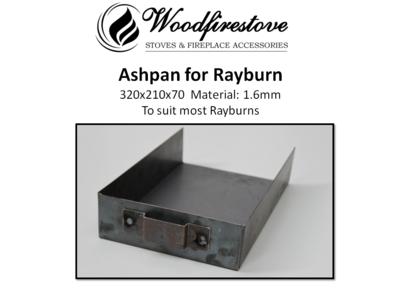ASH PAN for RAYBURN No 1 / No 2 / No 3 / Royal - 1.6mm steel - ASHPANS *Free Shipping Australia