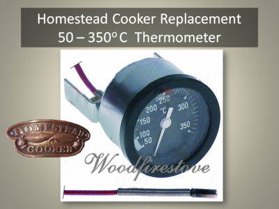 HOMESTEAD COOKER 50-350 Degree Celsius Thermometer Replacement  *FREE SHIPPING