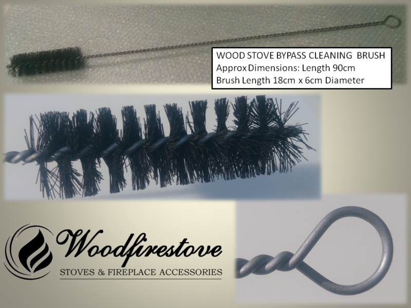 WOOD STOVE BYPASS CLEANING  BRUSH - Universal