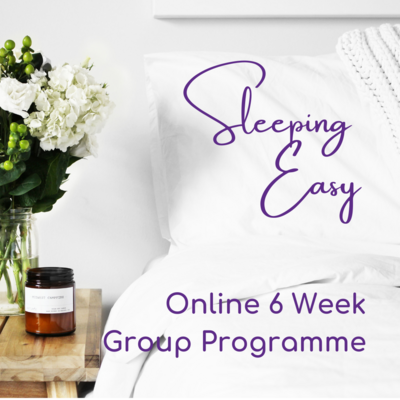 Sleep Easy 6 Week Online Programme for Hearties