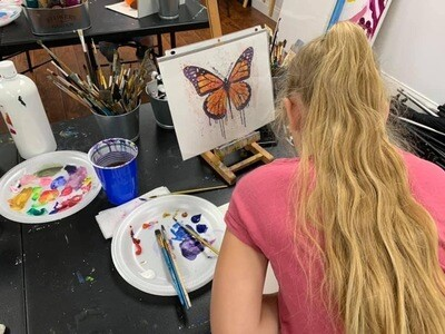 Kids Group Art Lessons (4 Hours)