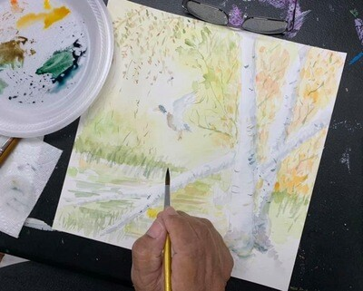 Adult Group Art Lessons (4 Hours)