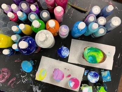 Kids Fluid Art Workshop