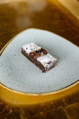 Chocolate and pear brownie   GF