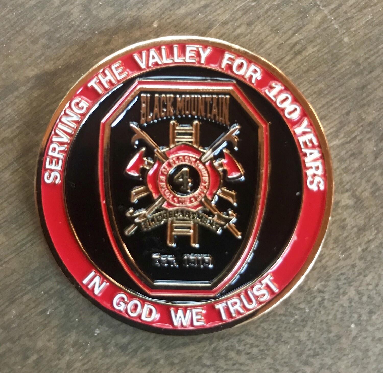 Black Mountain 100 Year Anniversary Challenge Coin