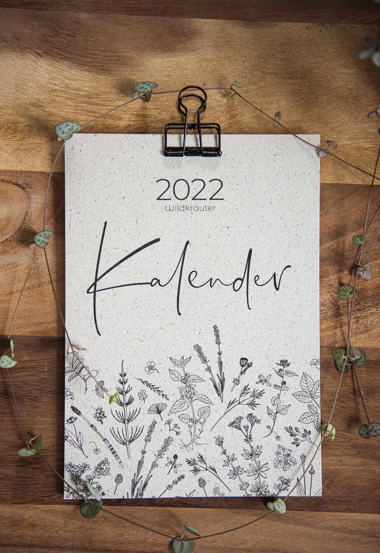 100% ökologischer Kalender 2022