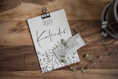 Kalender 2022 mit Wildkräutersamen