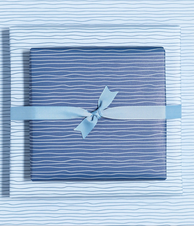 Geschenkpapier «Wasser» - doppelseitig
