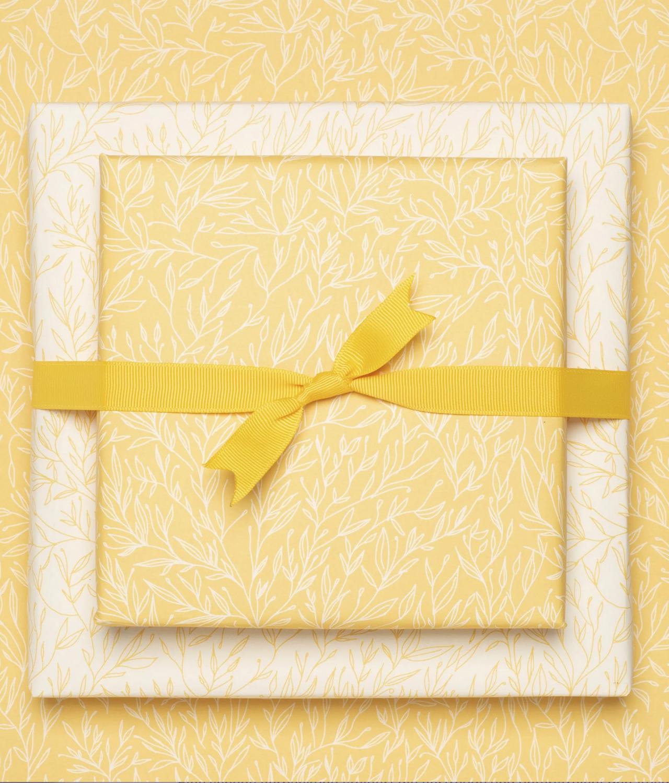 Geschenkpapier «Pflanzen» - doppelseitig