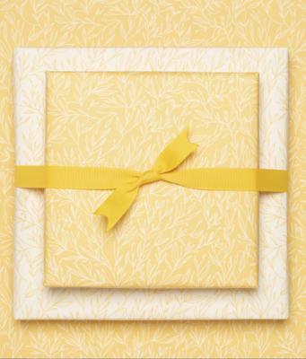 Geschenkbogen «Pflanzen» - doppelseitig