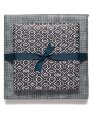 Geschenkbogen «Circles & Squares» - doppelseitig