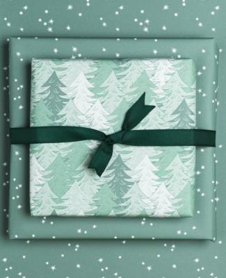 Geschenkbogen «Wald» - doppelseitig