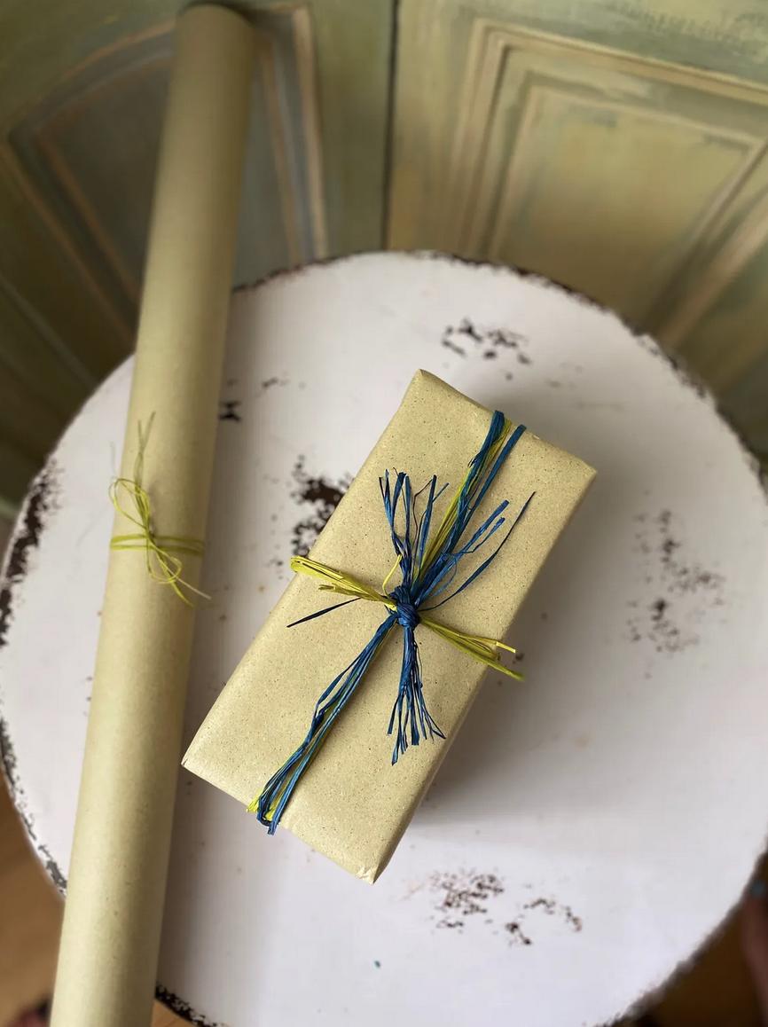 Geschenkbogen Natur Graspapier – 100% ökologisch!