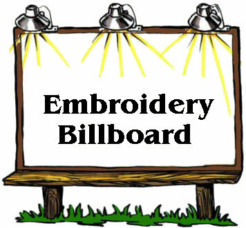 Embroidery Billboard Advertising