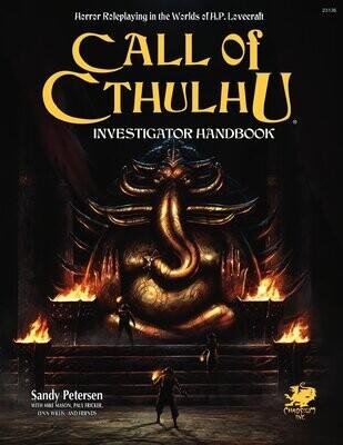 Call of Cthulhu: 7th Ed Investigator Handbook