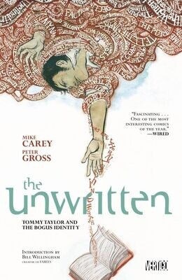 Unwritten: Vol. 1: Tommy Taylor and the Bogus Identity