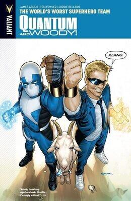 Quantum and Woody Vol 1: The World's Worst Superhero Team