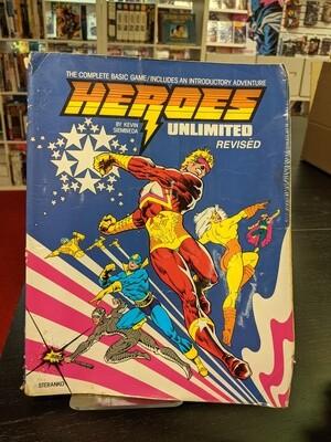 Heroes Unlimited Revised