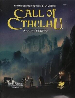 Call of Cthulhu: 7th Ed Keeper Screen Pack