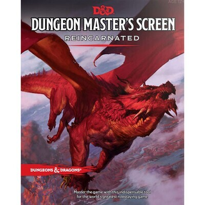 Dungeons & Dragons 5E: Dungeon Master's Screen - Reincarnated