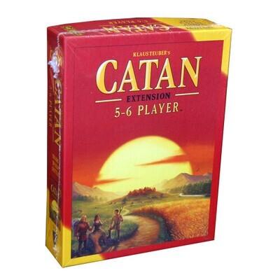 Catan 5-6 Player Exstension