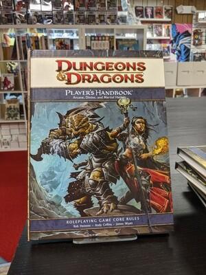 D&D 4e: Players Handbook