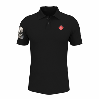 Chemise Negra Logo Impreso